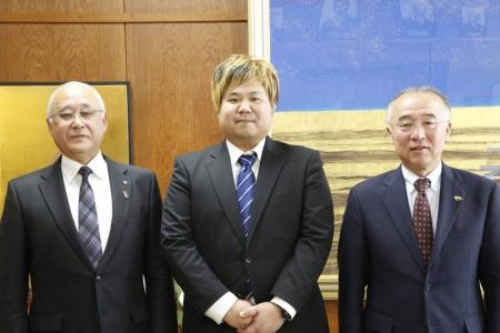 マック竹田レフェリーが群馬県中之条町の観光大使に任命されました