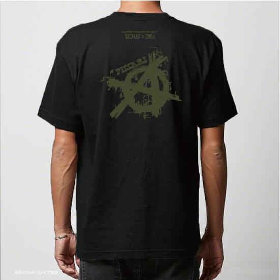 BADBOY×岡林裕二コラボTシャツ ブラック