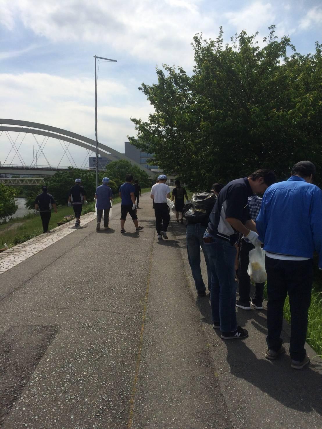 【報告】大日本プロレスが地域の清掃活動へ参加