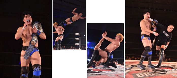 "BJW: ""Super Star Warriors"" triunfa Abdullah Kobayashi 4"