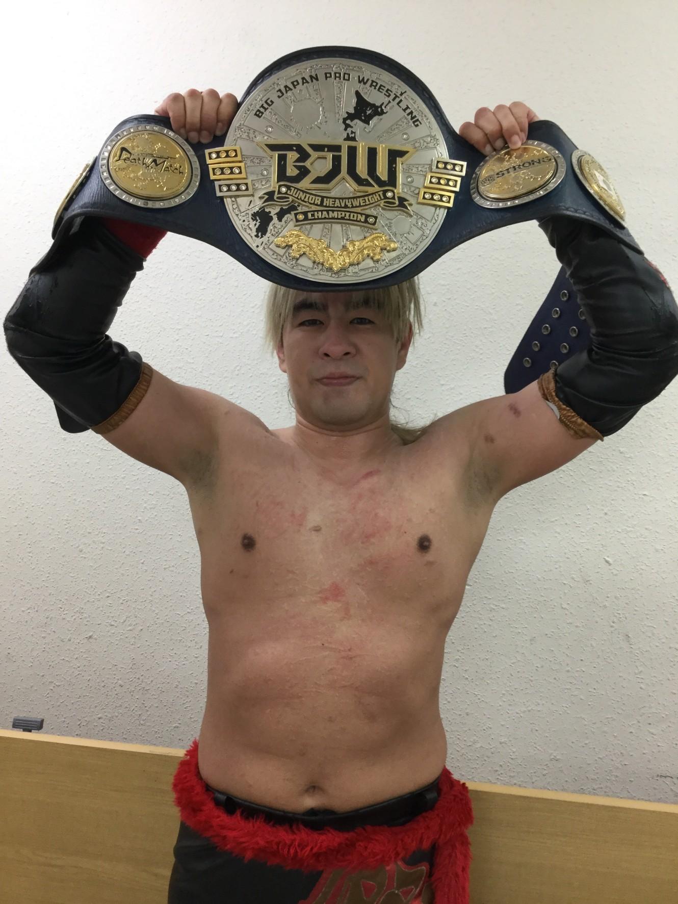 4/10(土)プロレスリングBASARA板橋大会BJW認定ジュニアヘビー級選手権 試合結果に関して