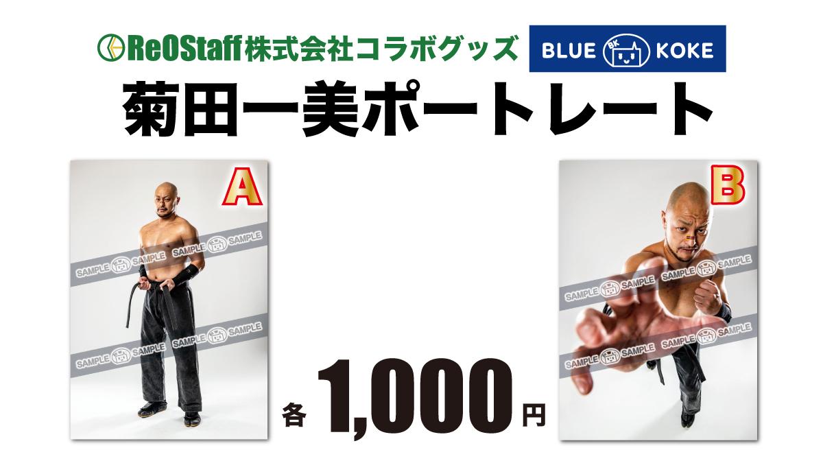 <ReOStaff株式会社コラボグッズ>菊田一美ポートレート